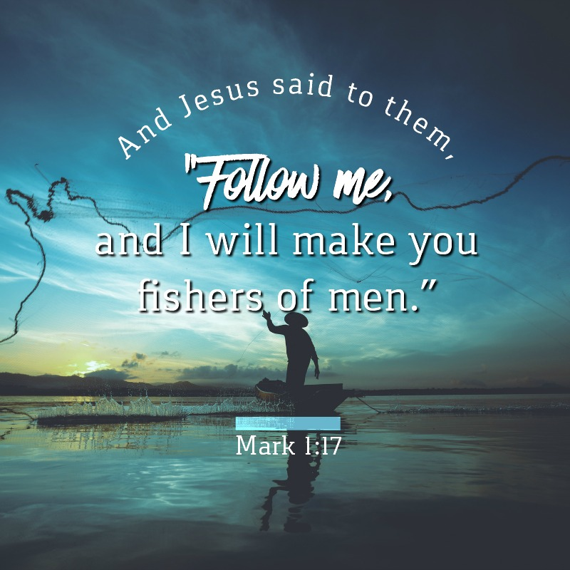 Daily Verse: Mark 1:17