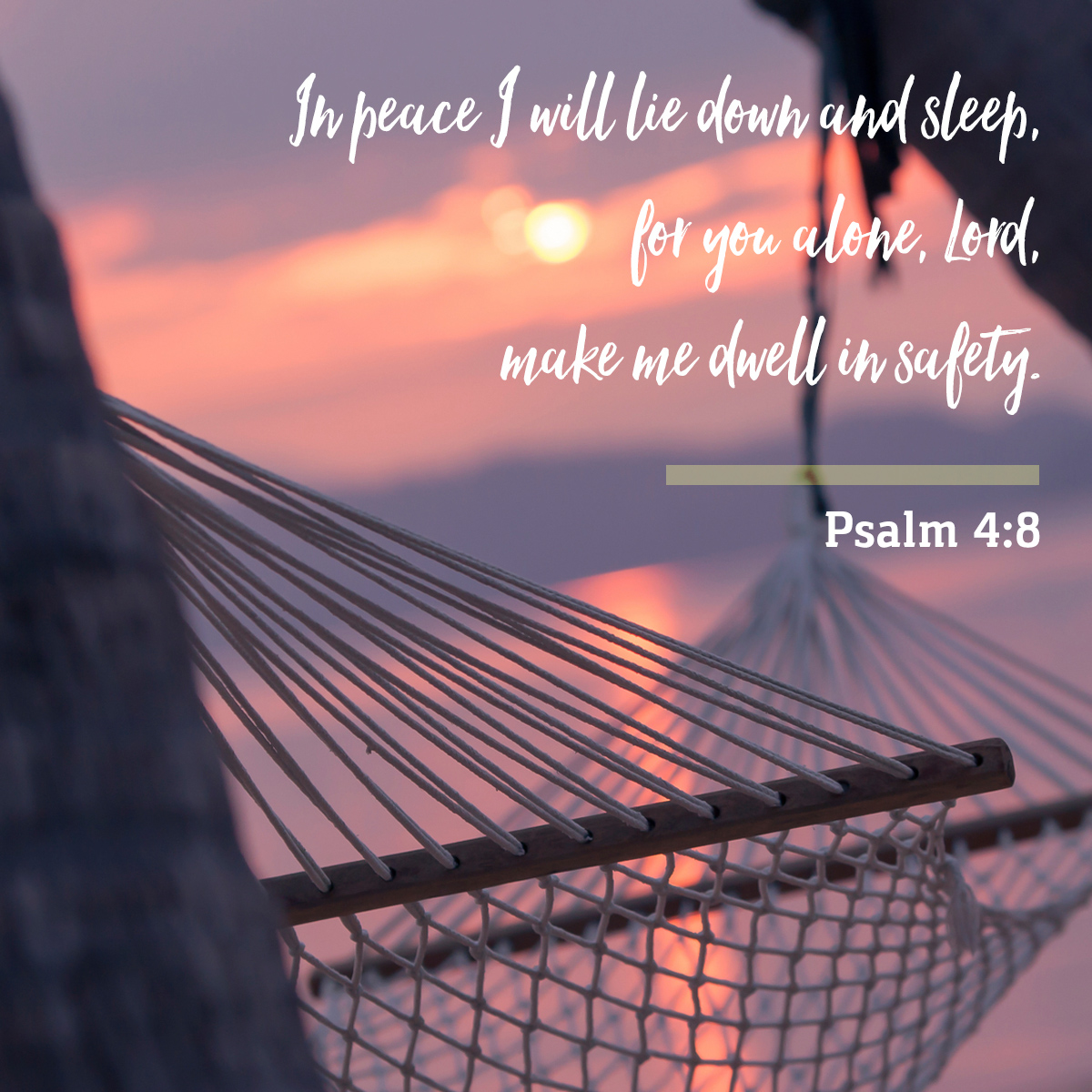Psalm 4:8 - Daily Verse