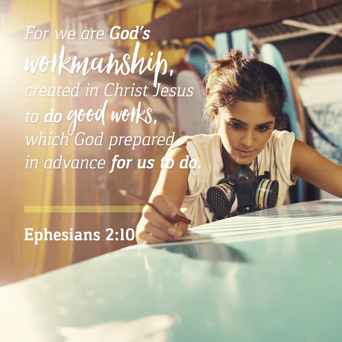 Ephesians 2:10 - Daily Verse