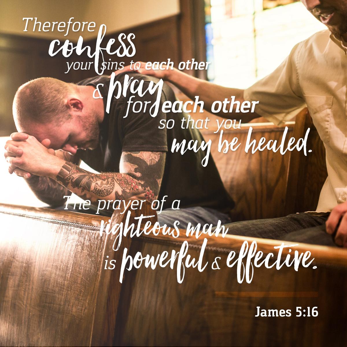 James 5:16 - Daily Verse