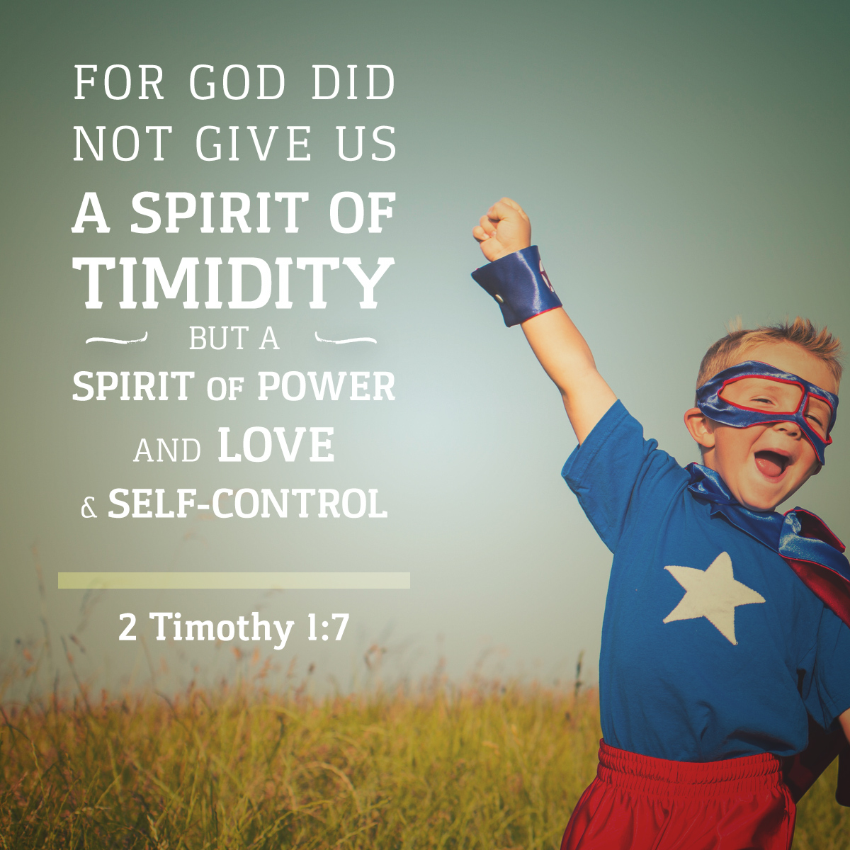 2 Timothy 1:7 - Daily Verse