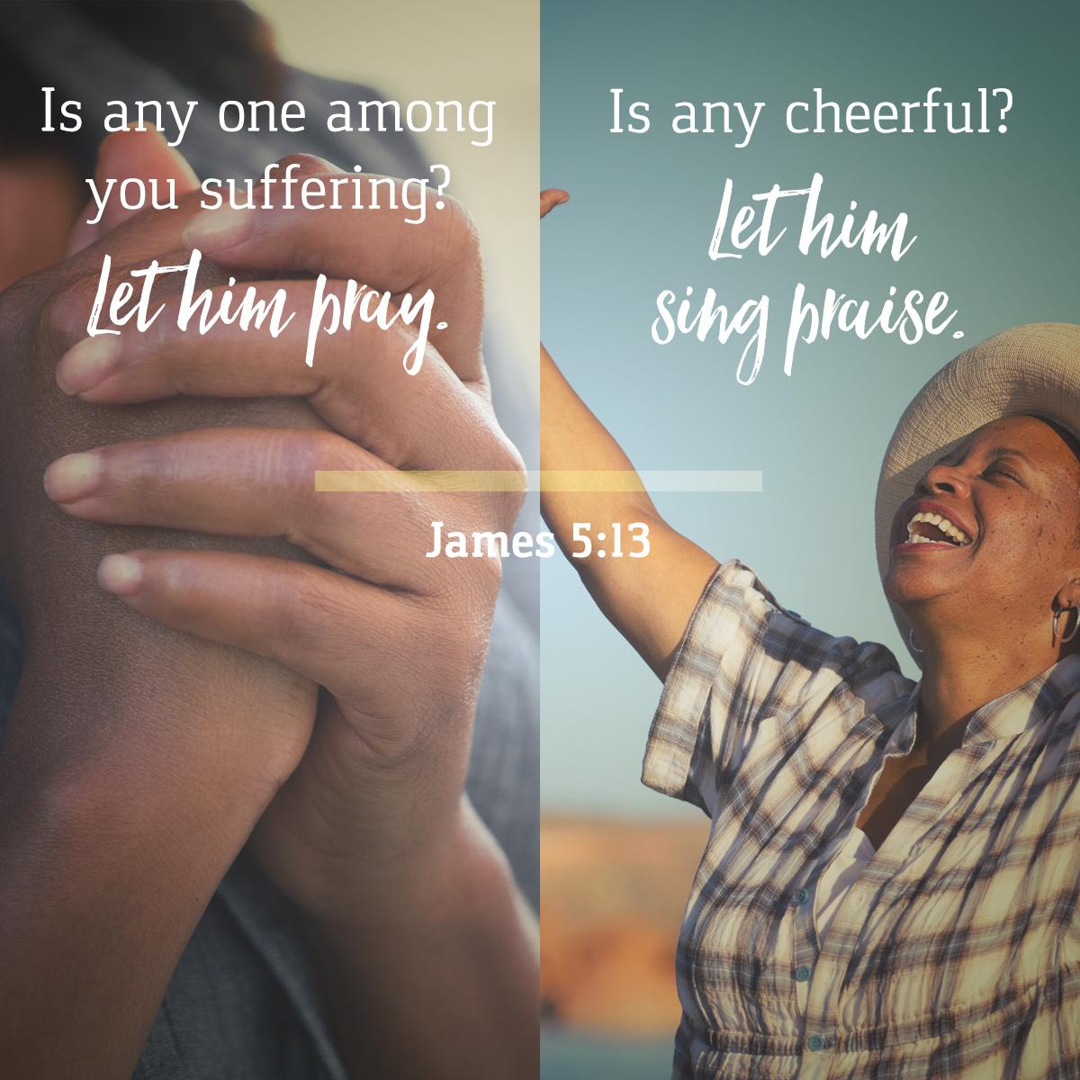 James 5:13 - Daily Verse