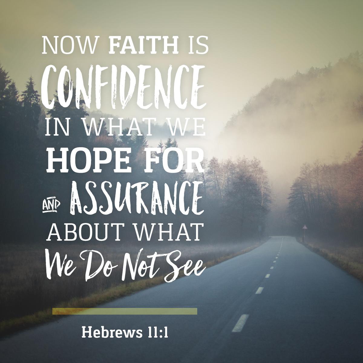 Hebrews 11:1 - Daily Verse