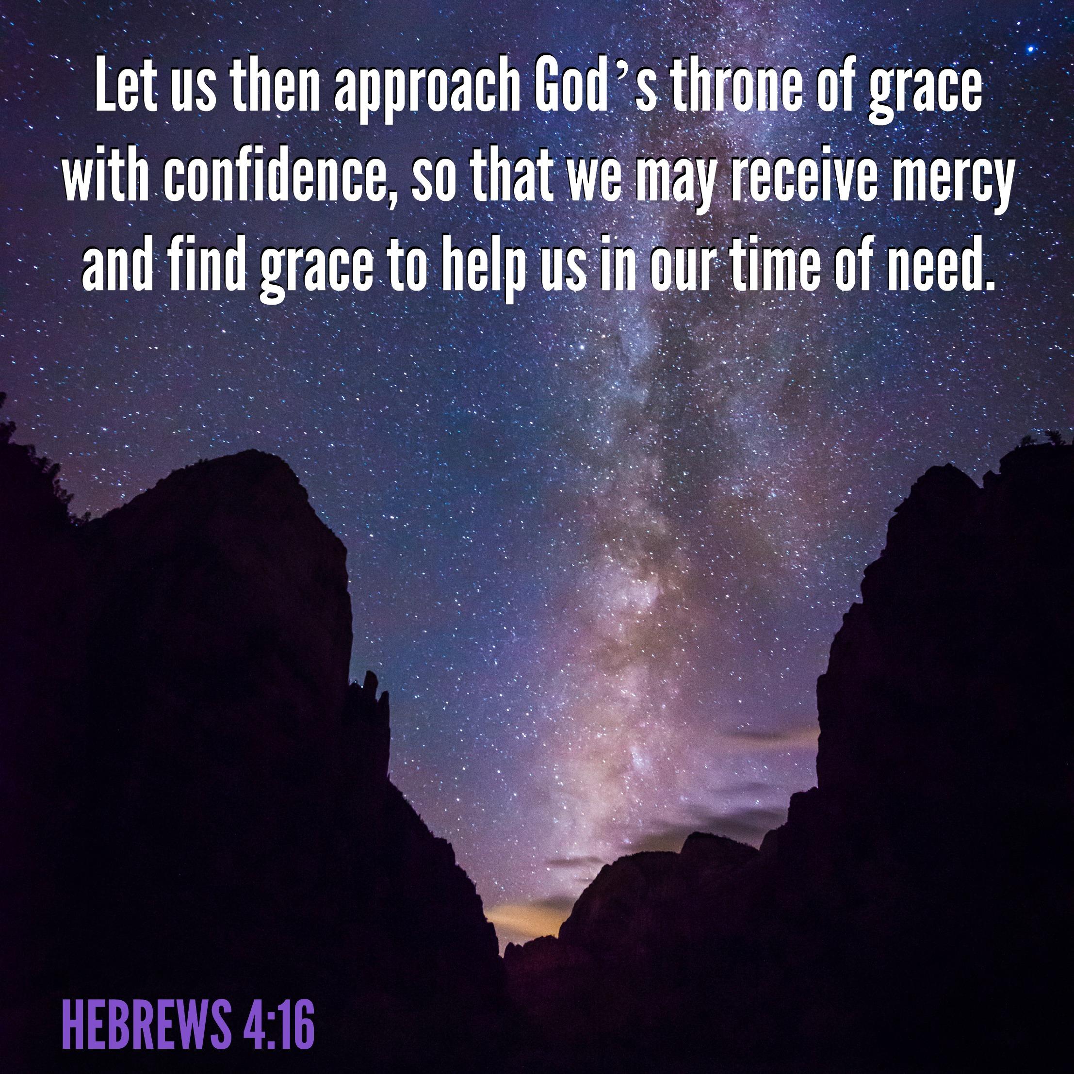Hebrews - 4:16