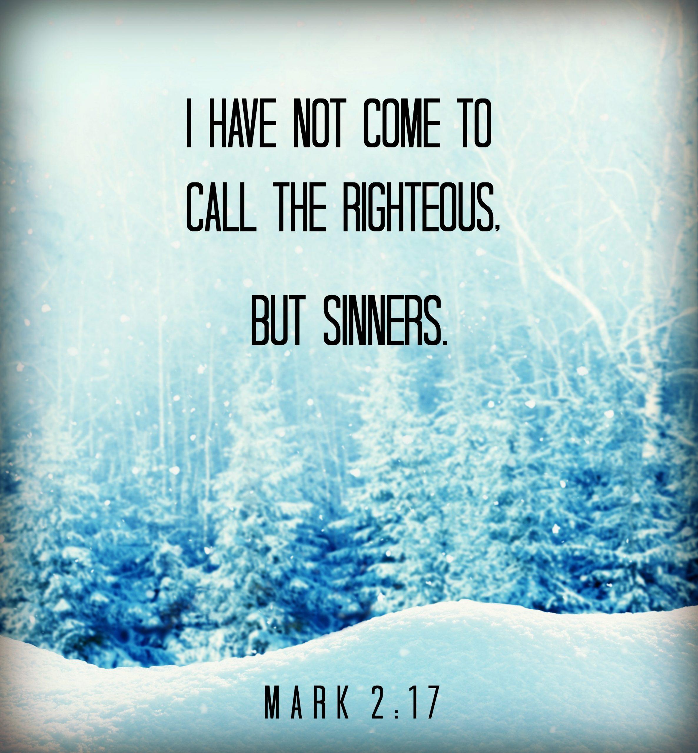 Mark 2:17