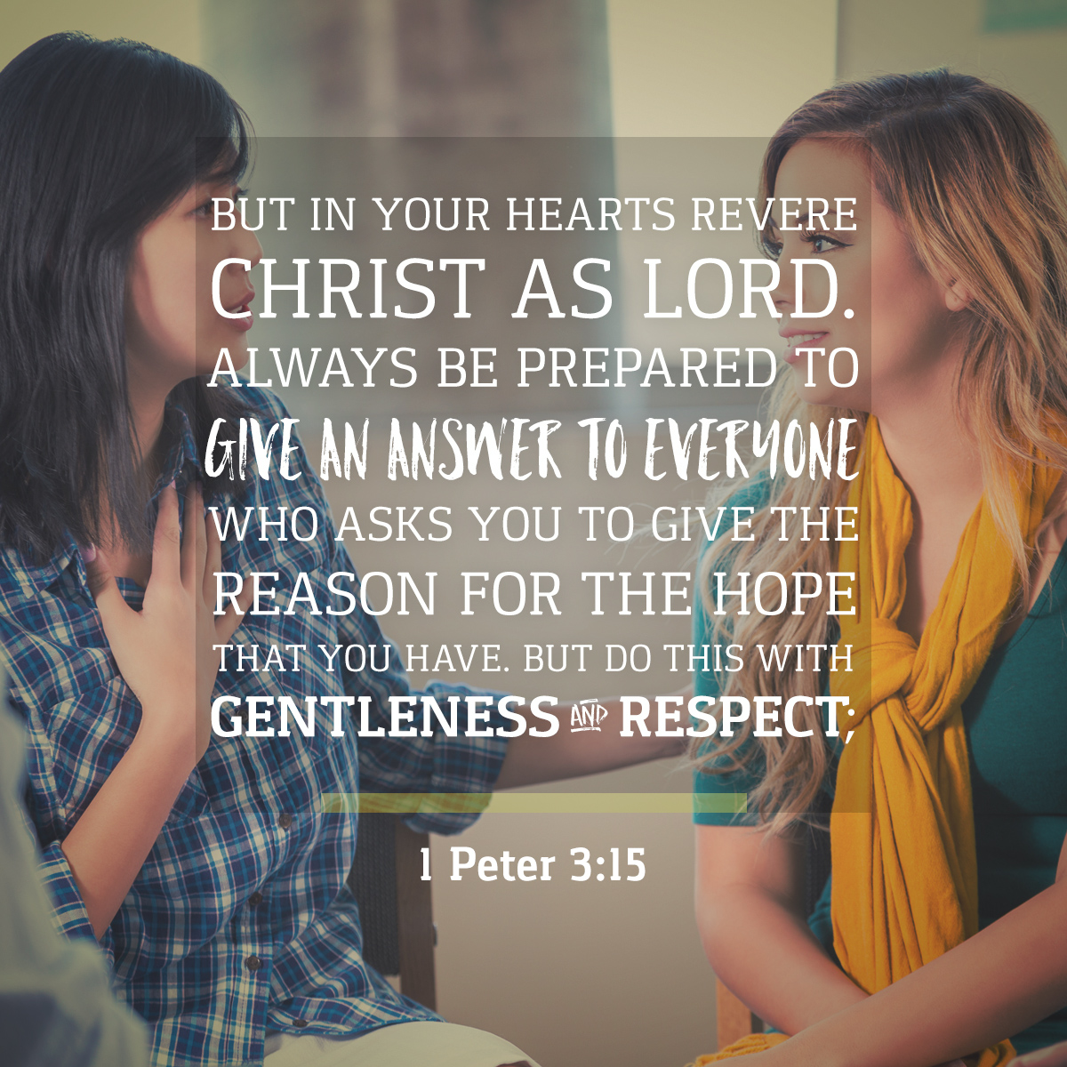 1 Peter 3:15 Daily Verse