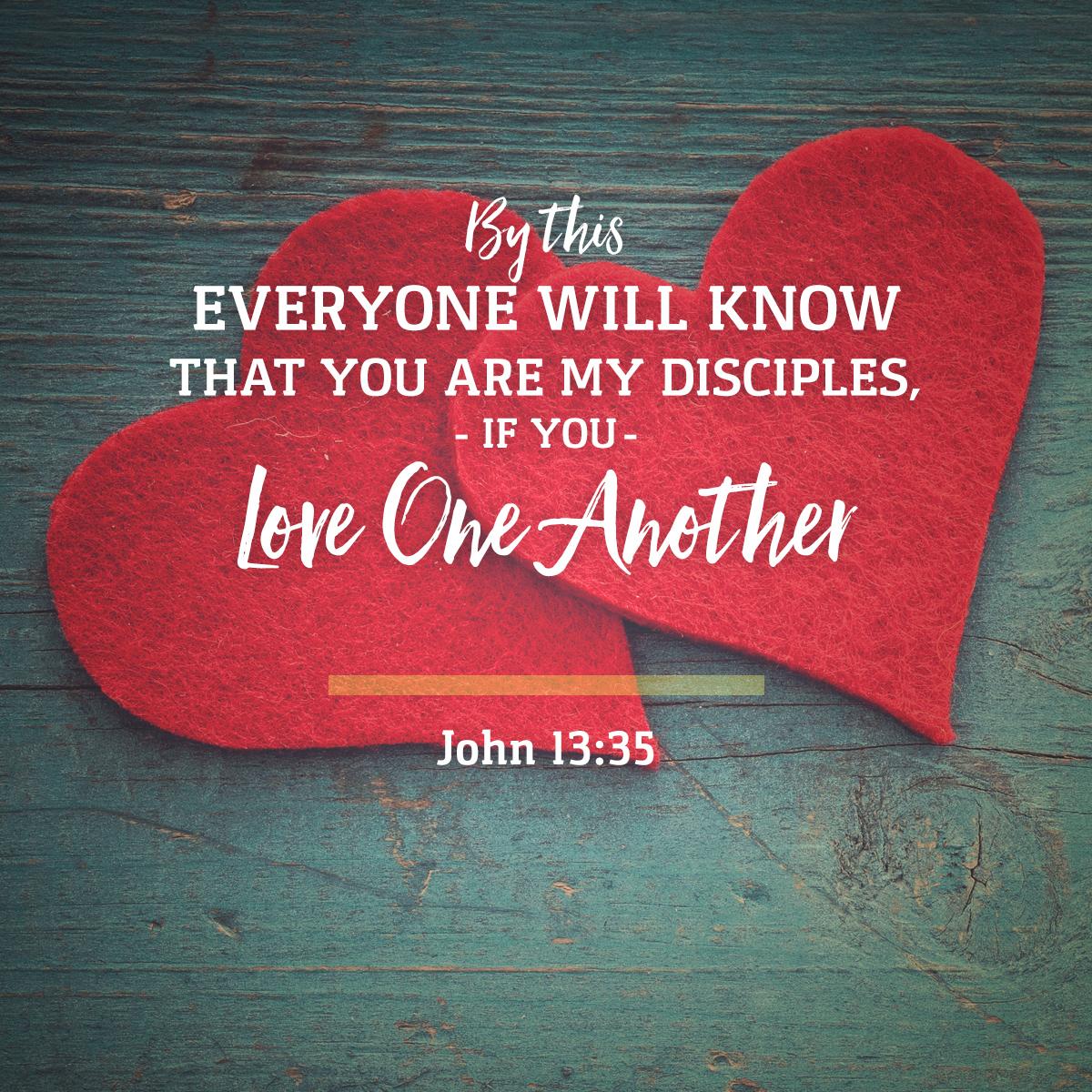 John 13:35 Daily Verse