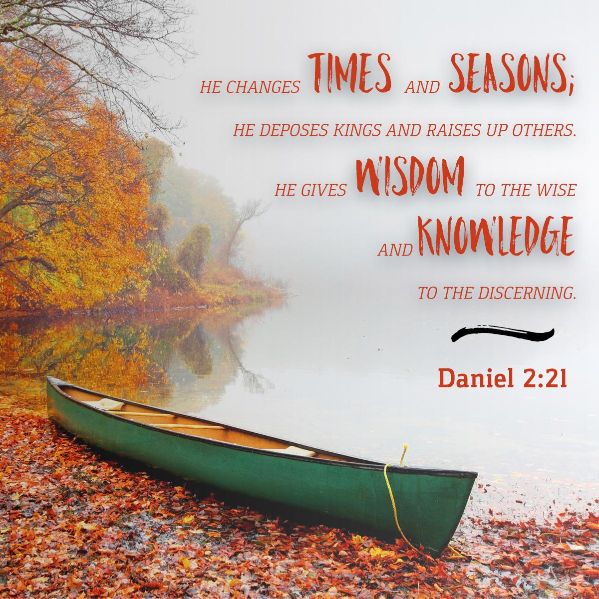 Daniel 2:21