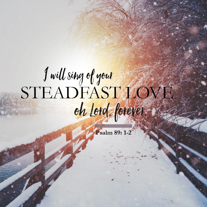 Psalm 89:1-2