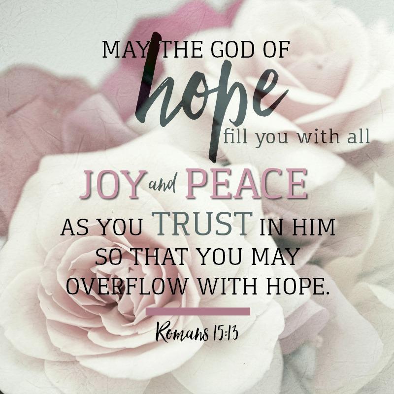 Romans 15:13-