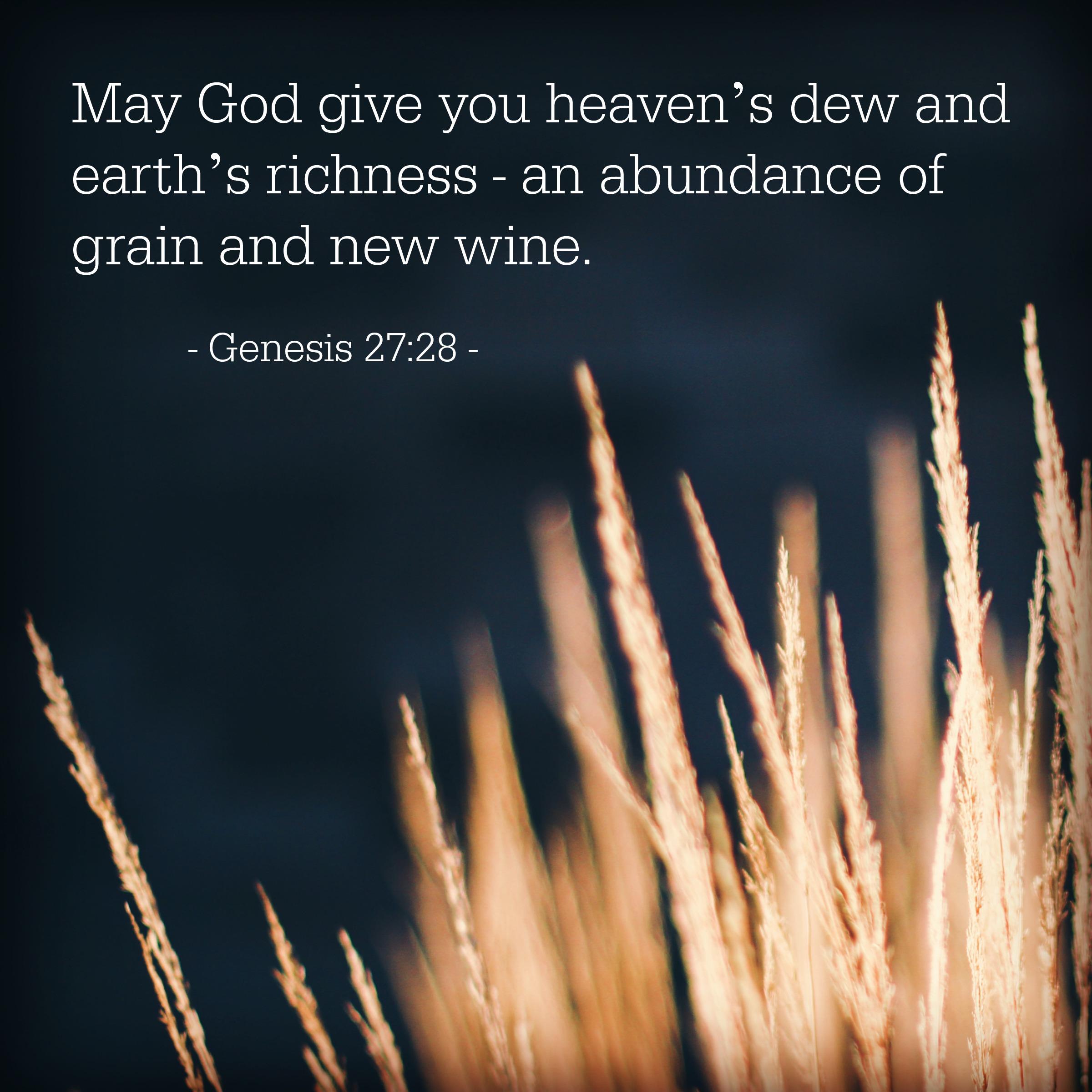 Genesis 27:28