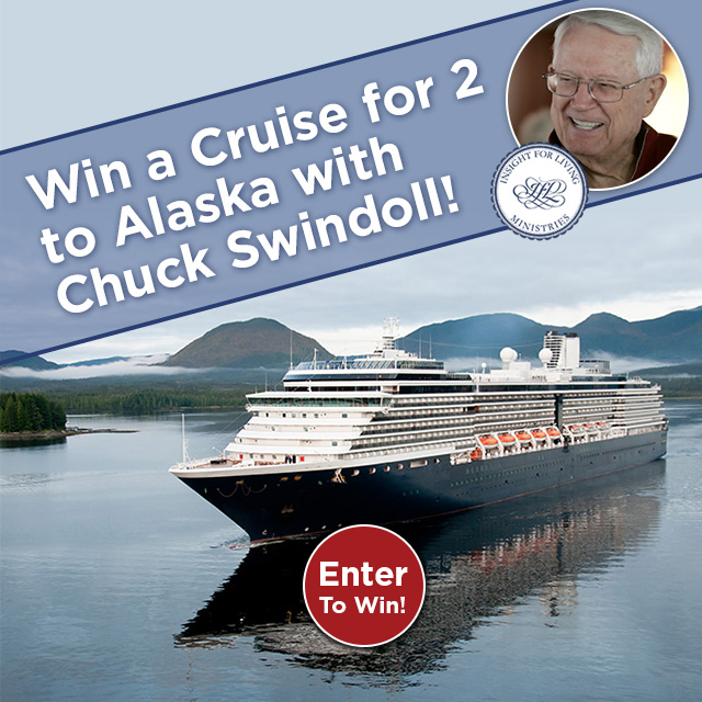 Win a Cruise for 2 with Chuck Swindoll!