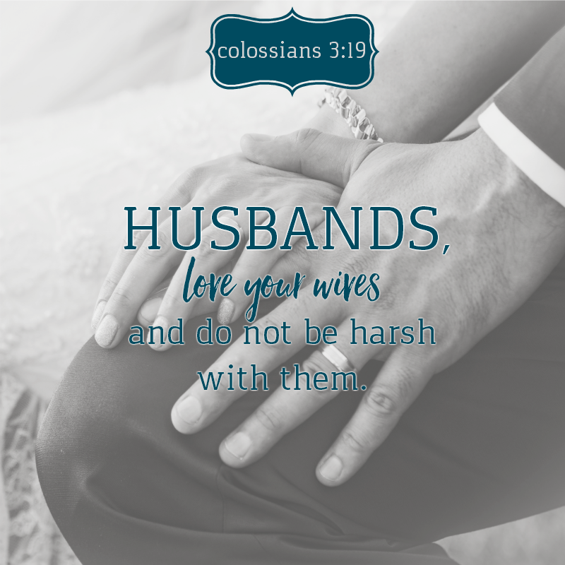 Daily Verse: Colossians 3:19