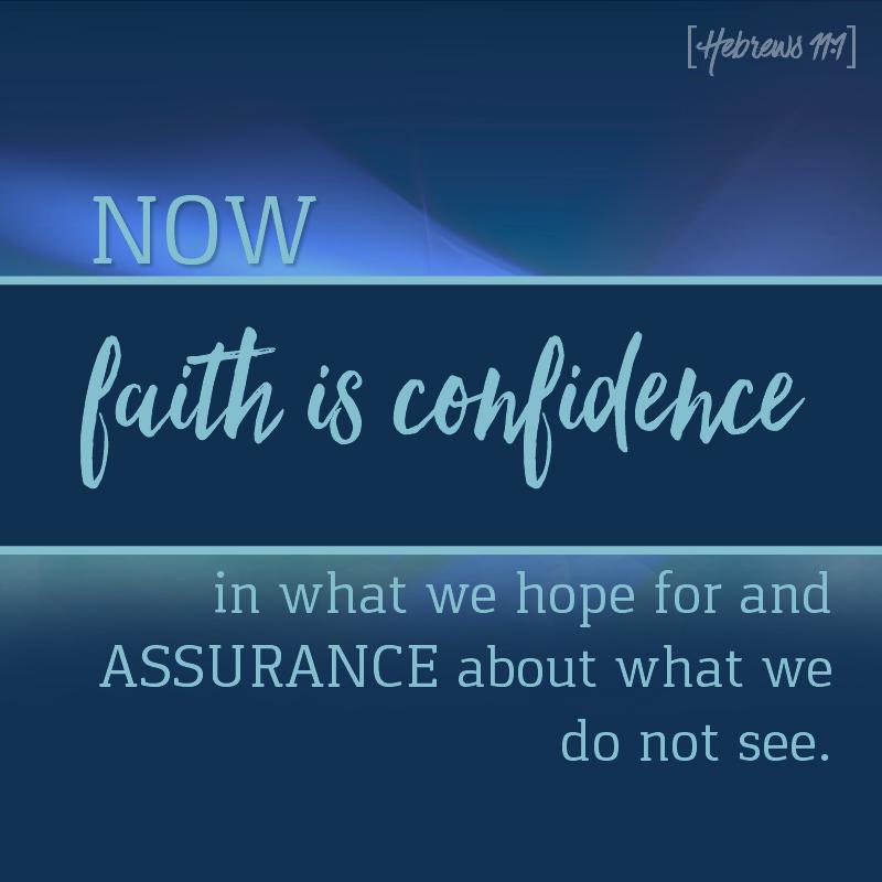 Daily Verse: Hebrews 11:1