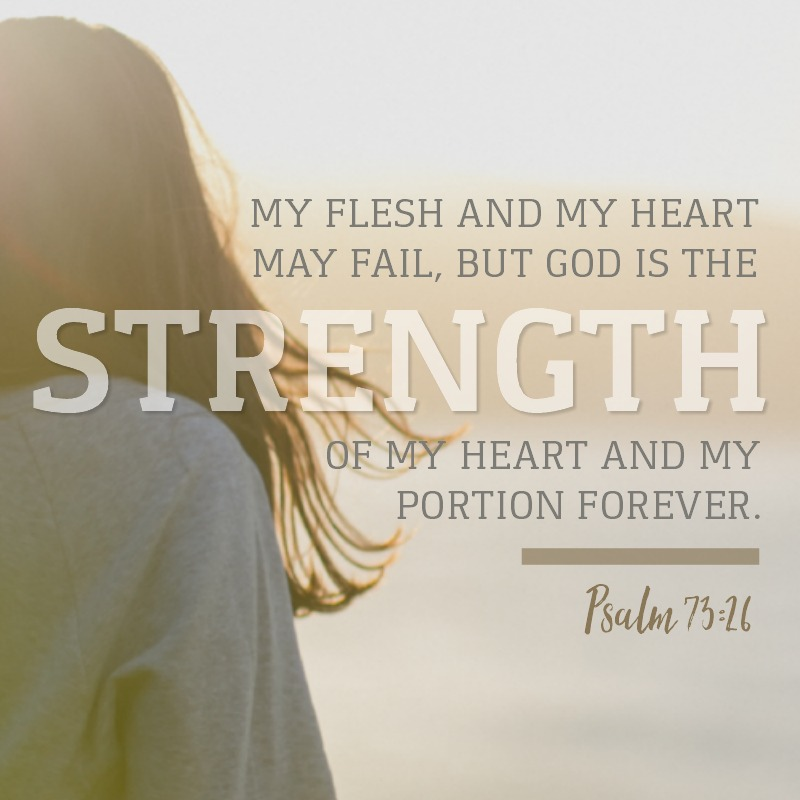 Daily Verse: Psalm 73:26