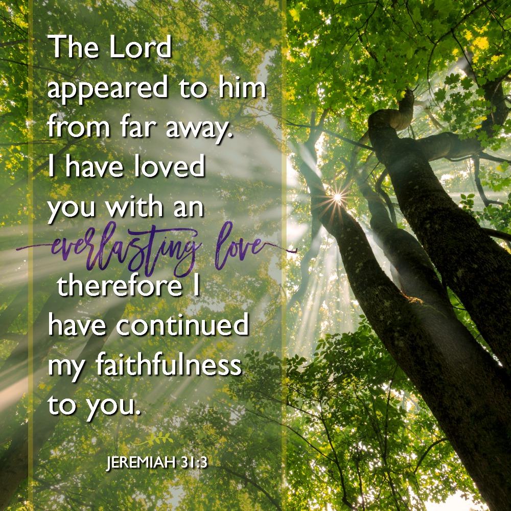 Daily Verse: Jeremiah 31:3