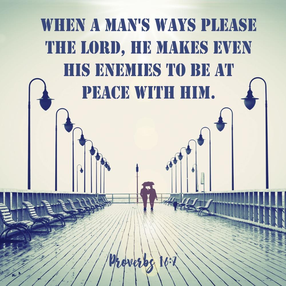 Daily Verse: Proverbs 16:7