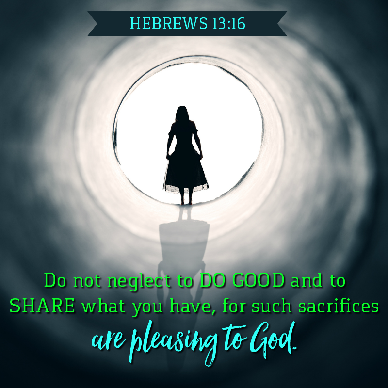Daily Verse: Hebrews 13:16