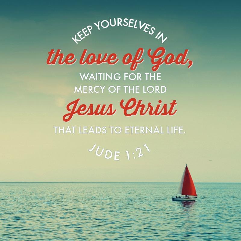 Daily Verse: Jude 1:21