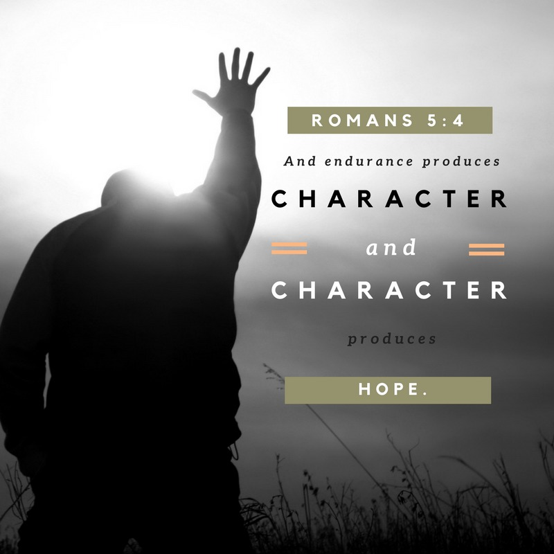 Daily Verse: Romans 5:4