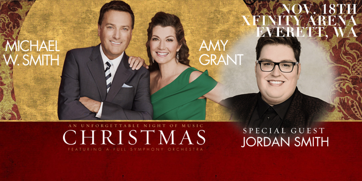 Michael W. Smith & Amy Grant in Concert Together!