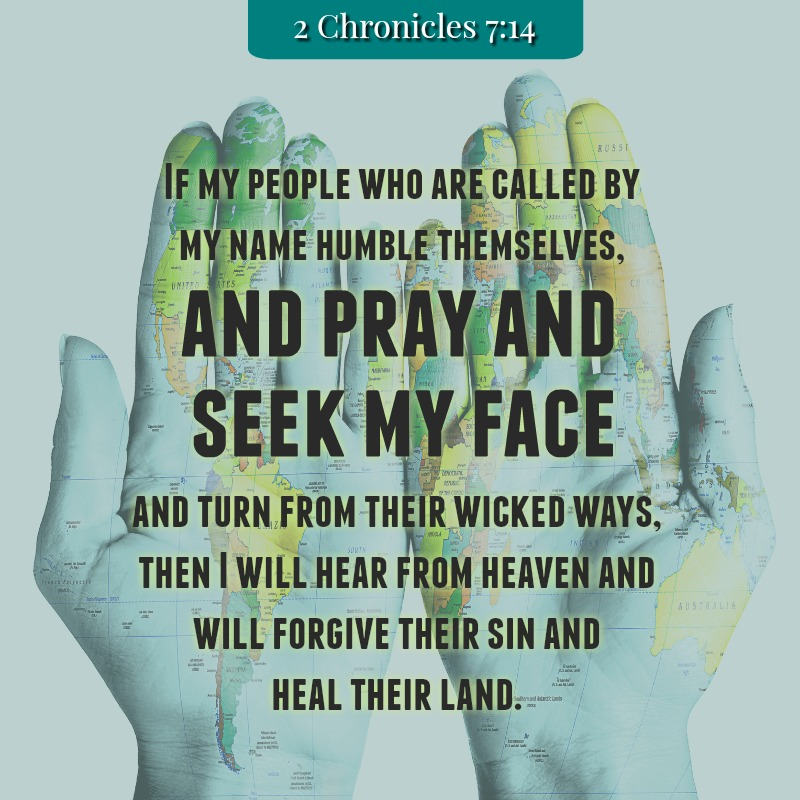 Daily Verse: 2 Chronicles 7:14