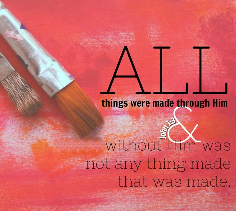 Daily Verse: John 1:3