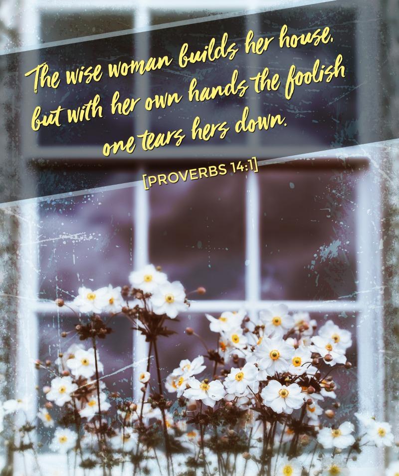 Daily Verse: Proverbs 14:1