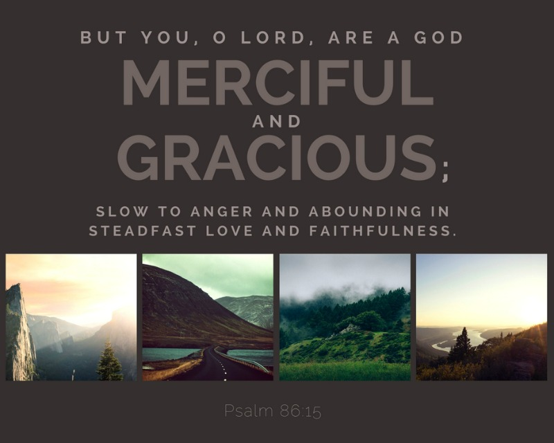 Daily Verse: Psalm 86:15