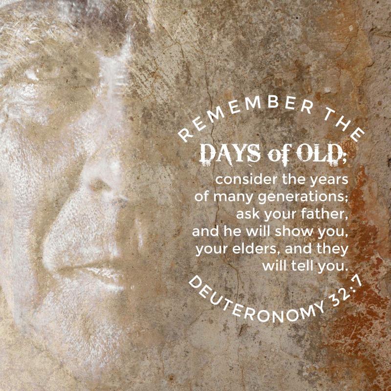 Daily Verse: Deuteronomy 32:7