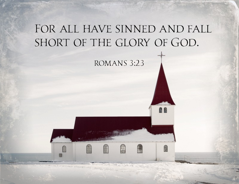 Daily Verse: Romans 3:23