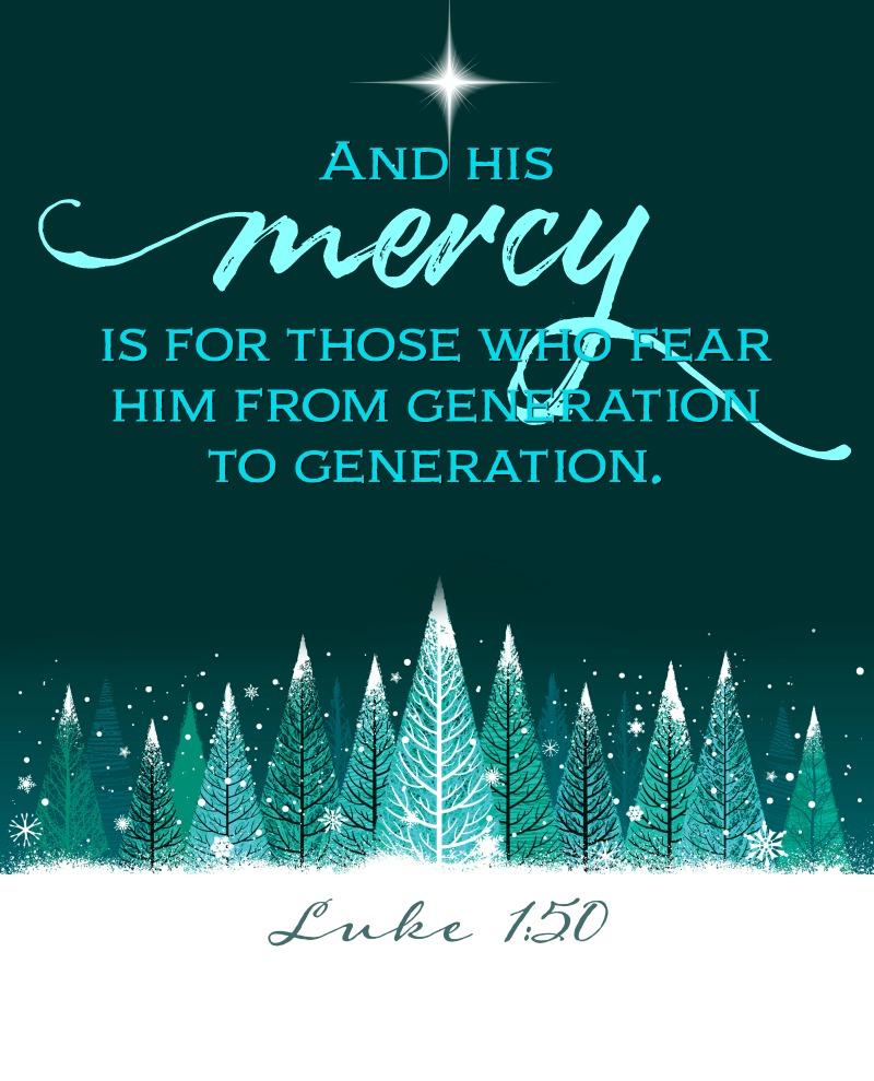 Daily Verse: Luke 1:50