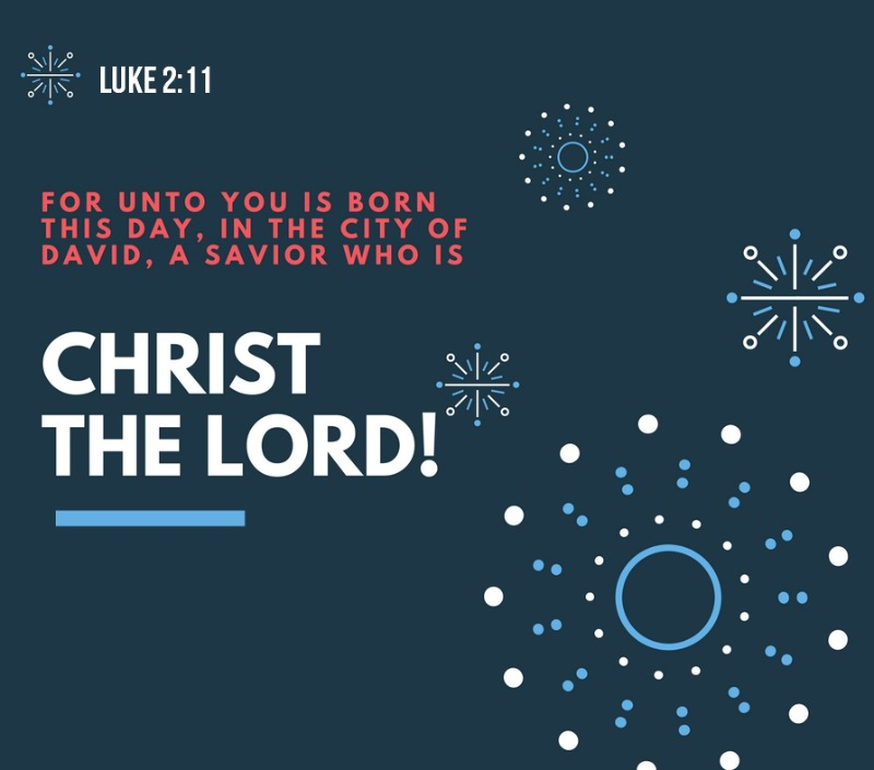 Daily Verse: Luke 2:11