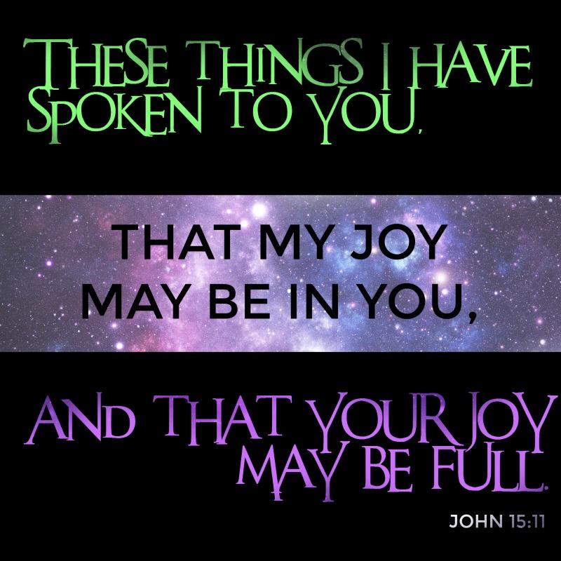 Daily Verse: John 15:11