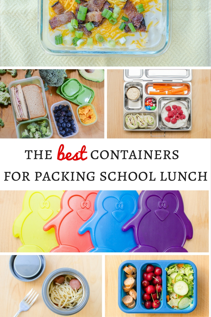 Get ready for back to school with the best lunch boxes and containers for packing your kids school lunch.