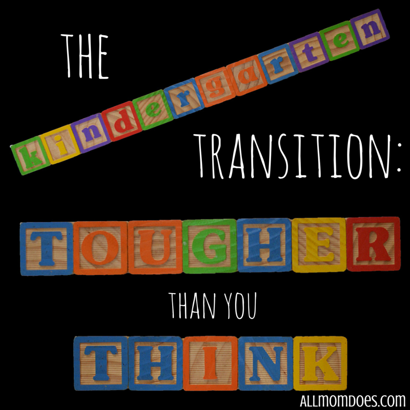 The Kindergarten Transition:  Tougher Than You Think
