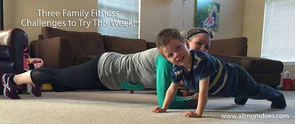 Three Family Fitness Challenges to Try This Week!