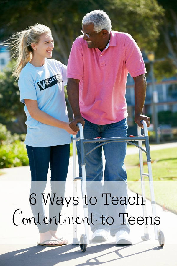 6 Ways to Teach Contentment to Teens