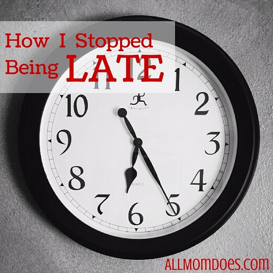 How I Stopped Being Late
