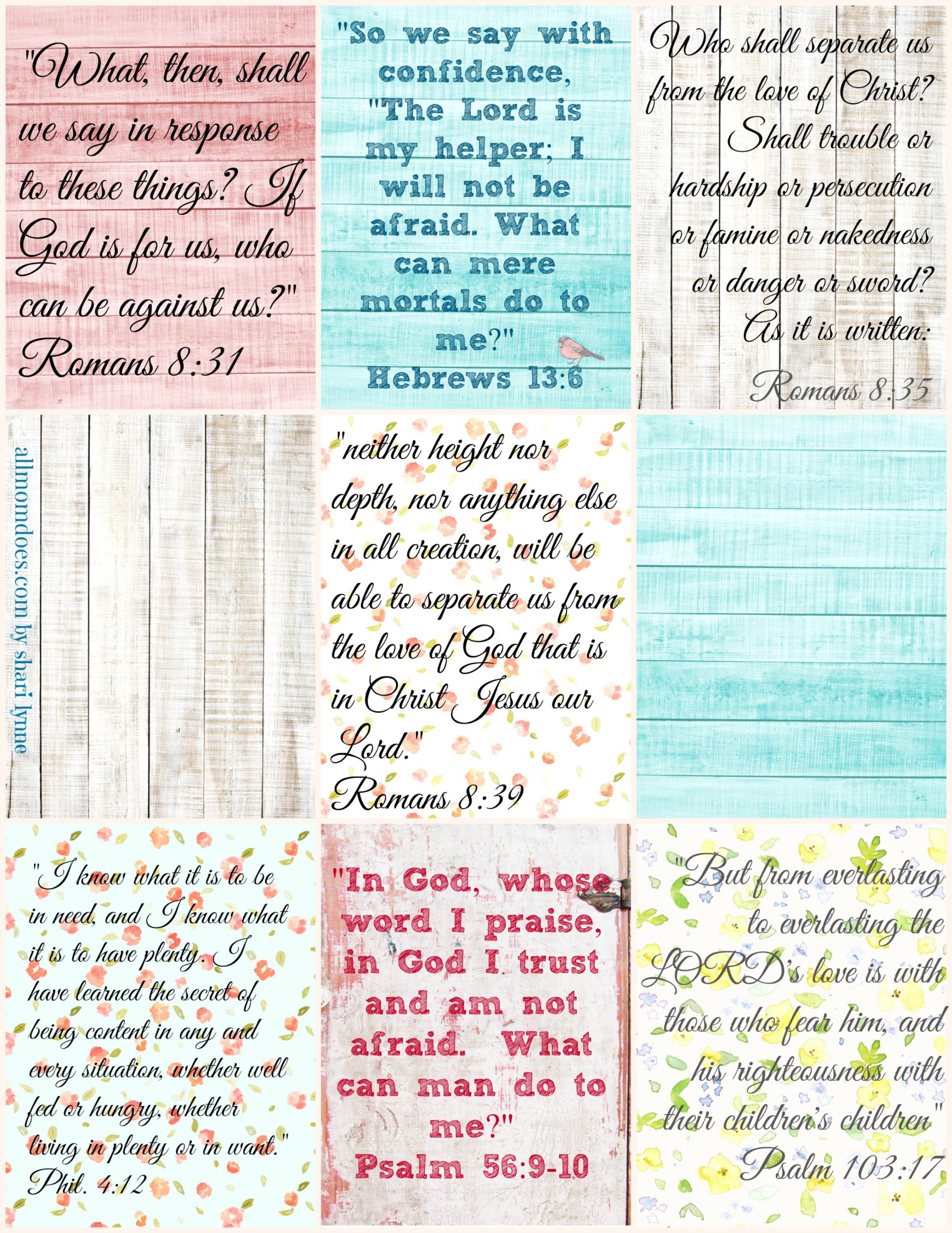 God Has Got My Back Printable