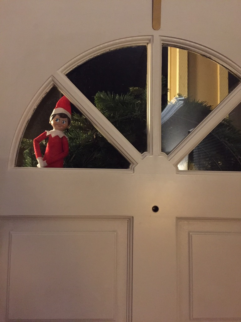 Our Elf on the Shelf Came Back