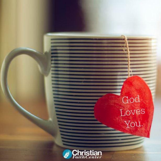 God Loves You For You