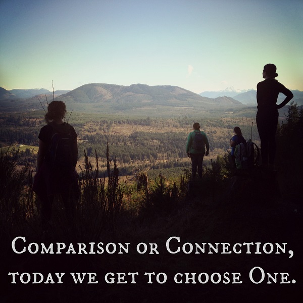 Comparison or Connection:  Choose One