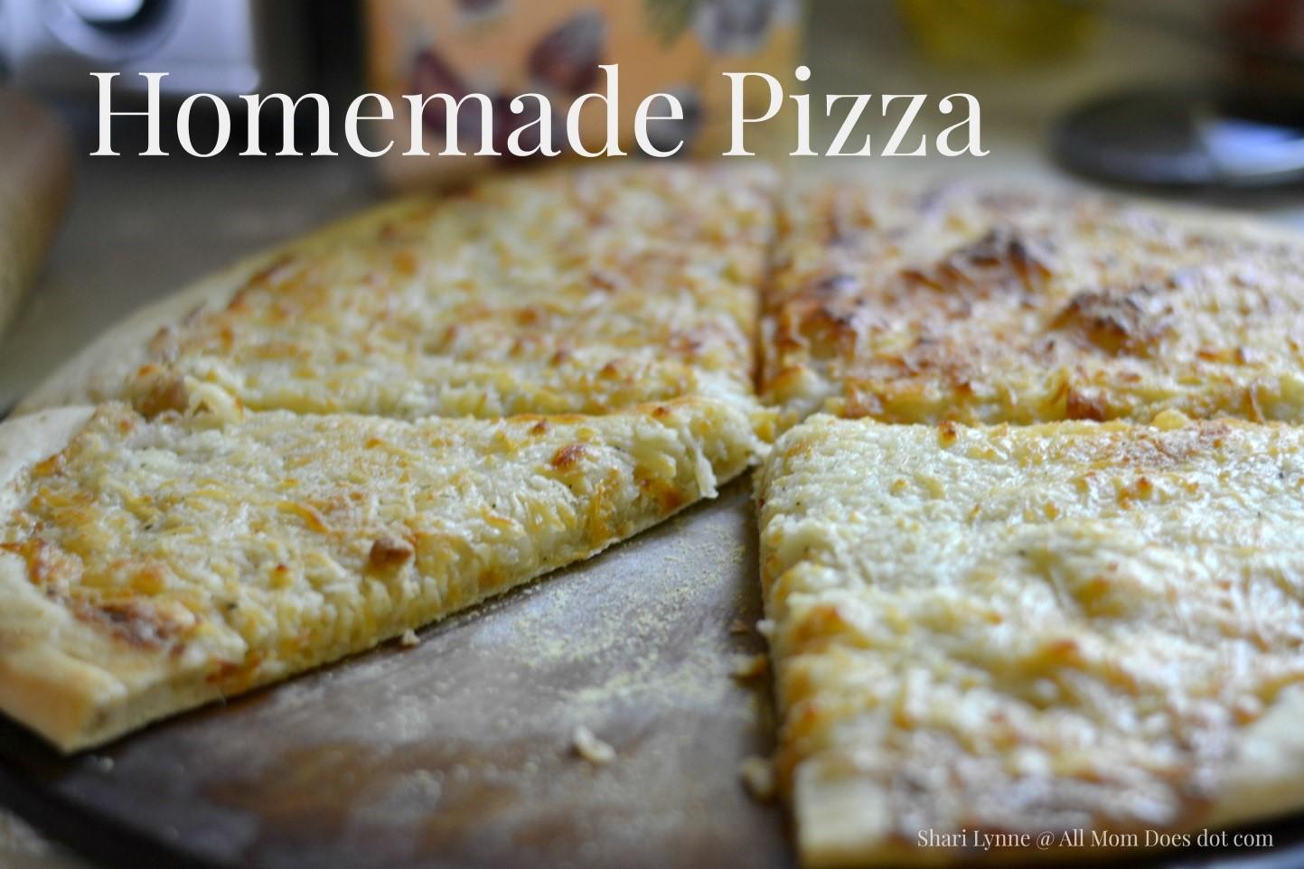 Recipe: Homemade Pizza
