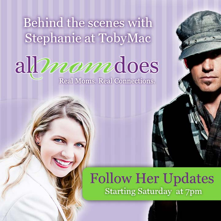 Meet Stephanie at TobyMac 02/22!