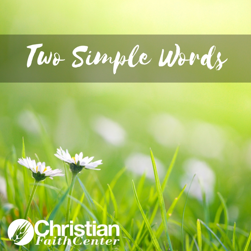 Two Simple Words