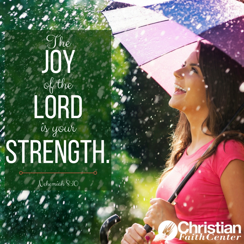 YOU Have the Strength of Joy