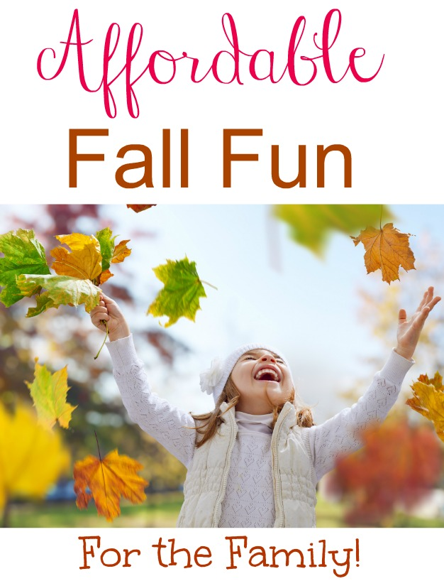Affordable Fall Fun For the Family