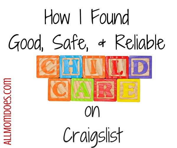 How I Found Good Childcare on Craigslist