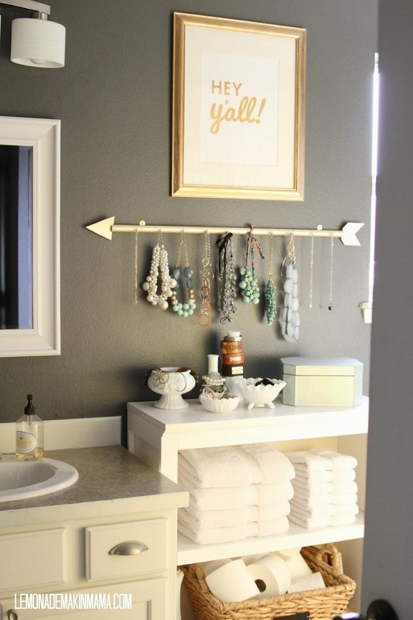 Making a Jewelry Display on a Shoestring Budget